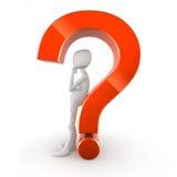 σημάδι ερώτησης απεικόνιση αποθεμάτων