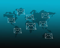 Σημάδι ηλεκτρονικού ταχυδρομείου στοκ φωτογραφία με δικαίωμα ελεύθερης χρήσης