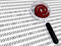 σημάδι ηλεκτρονικού ταχυδρομείου απεικόνιση αποθεμάτων
