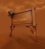 σημάδι κάουμποϋ Στοκ φωτογραφία με δικαίωμα ελεύθερης χρήσης
