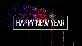 Σημάδι καλής χρονιάς ενάντια στην επίδειξη πυροτεχνημάτων φιλμ μικρού μήκους