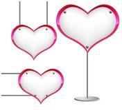 σημάδι καρδιών Στοκ φωτογραφίες με δικαίωμα ελεύθερης χρήσης