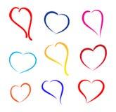 Σημάδι καρδιών Στοκ φωτογραφία με δικαίωμα ελεύθερης χρήσης