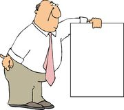 σημάδι κατόχων απεικόνιση αποθεμάτων