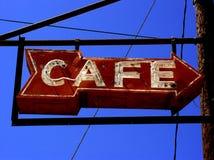 σημάδι καφέδων Στοκ Εικόνα