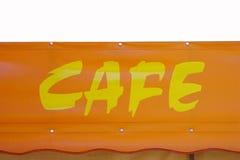 σημάδι καφέδων Στοκ φωτογραφία με δικαίωμα ελεύθερης χρήσης