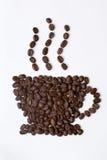 σημάδι καφέ Στοκ φωτογραφία με δικαίωμα ελεύθερης χρήσης