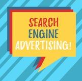 Σημάδι κειμένων που παρουσιάζει διαφήμιση μηχανών αναζήτησης Εννοιολογική μέθοδος φωτογραφιών έναν σε απευθείας σύνδεση σωρό διαφ στοκ εικόνα με δικαίωμα ελεύθερης χρήσης