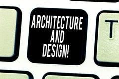 Σημάδι κειμένων που παρουσιάζει την αρχιτεκτονική και σχέδιο Εννοιολογικό σύνολο φωτογραφιών διαδικασιών στο γράψιμο του λογισμικ απεικόνιση αποθεμάτων