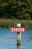 σημάδι κινδύνου στοκ φωτογραφία με δικαίωμα ελεύθερης χρήσης