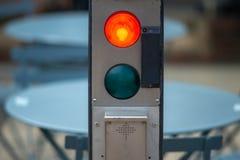 Σημάδι κυκλοφορίας που μιμείται Hal 9000 στοκ φωτογραφίες με δικαίωμα ελεύθερης χρήσης