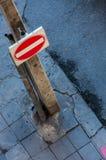 Σημάδι κυκλοφορίας Στοκ φωτογραφίες με δικαίωμα ελεύθερης χρήσης