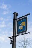 Σημάδι μηχανών του ATM Στοκ φωτογραφίες με δικαίωμα ελεύθερης χρήσης