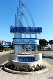 Σημάδι νησιών καταφυγίων στο Σαν Ντιέγκο Καλιφόρνια ΗΠΑ Στοκ φωτογραφία με δικαίωμα ελεύθερης χρήσης