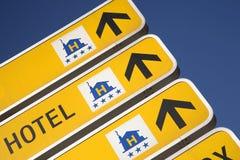 σημάδι ξενοδοχείων Στοκ Εικόνες