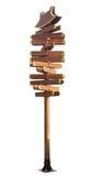 σημάδι ξύλινο Στοκ Φωτογραφία