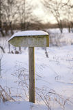 σημάδι ξύλινο Στοκ εικόνες με δικαίωμα ελεύθερης χρήσης