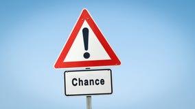 Σημάδι οδών στην πιθανότητα στοκ φωτογραφίες με δικαίωμα ελεύθερης χρήσης