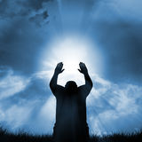 σημάδι πίστης Στοκ Φωτογραφίες