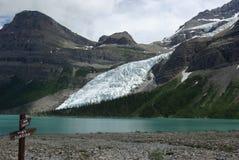 σημάδι παγετώνων του Berg Στοκ φωτογραφία με δικαίωμα ελεύθερης χρήσης