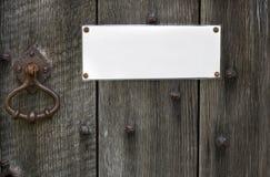 σημάδι πορτών Στοκ φωτογραφία με δικαίωμα ελεύθερης χρήσης