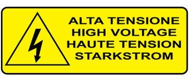 Σημάδι προσοχής Στοκ φωτογραφίες με δικαίωμα ελεύθερης χρήσης