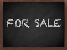 σημάδι πώλησης πινάκων Στοκ Φωτογραφίες