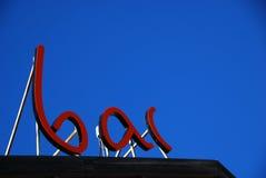 σημάδι ράβδων Στοκ Εικόνα