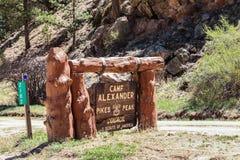 Σημάδι στο Κολοράντο στοκ φωτογραφία με δικαίωμα ελεύθερης χρήσης