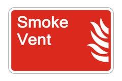 σημάδι συμβόλων ασφάλειας διεξόδων καπνού πυρκαγιάς συμβόλων στο άσπρο υπόβαθρο, διανυσματική απεικόνιση απεικόνιση αποθεμάτων