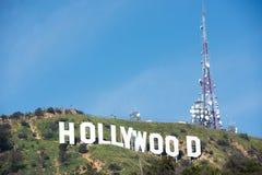 σημάδι της Angeles hollywood Los Στοκ Εικόνα