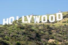σημάδι της Angeles hollywood Los Στοκ Φωτογραφία