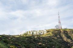 σημάδι της Angeles hollywood Los Στοκ εικόνα με δικαίωμα ελεύθερης χρήσης