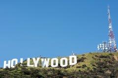σημάδι της Angeles hollywood Los Στοκ φωτογραφίες με δικαίωμα ελεύθερης χρήσης