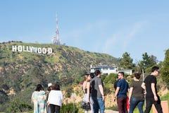 σημάδι της Angeles hollywood Los Στοκ Εικόνες