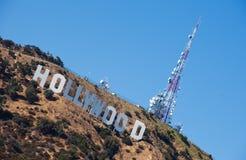 σημάδι της Angeles hollywood Los Στοκ Φωτογραφίες