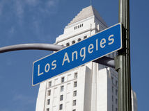 σημάδι της Angeles Los Στοκ Εικόνες