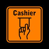 σημάδι του ATM Στοκ φωτογραφία με δικαίωμα ελεύθερης χρήσης