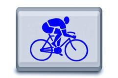 σημάδι φυλών ποδηλάτων Στοκ εικόνες με δικαίωμα ελεύθερης χρήσης