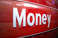 σημάδι χρημάτων Στοκ Φωτογραφία