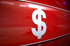 σημάδι χρημάτων Στοκ Εικόνα