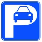 σημάδι χώρων στάθμευσης α&upsil απεικόνιση αποθεμάτων