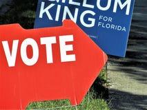 Σημάδι ψηφοφορίας, Φλώριδα στοκ εικόνες με δικαίωμα ελεύθερης χρήσης