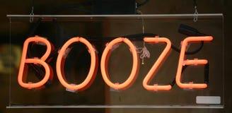 Σημάδι Booze Στοκ εικόνες με δικαίωμα ελεύθερης χρήσης