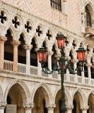 σημάδι s Άγιος τετραγωνική Βενετία Στοκ Εικόνες