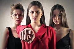 Σημάνετε τα κορίτσια Στοκ φωτογραφία με δικαίωμα ελεύθερης χρήσης