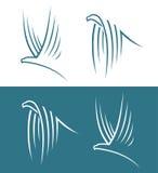 Σημάδια αετών Στοκ φωτογραφίες με δικαίωμα ελεύθερης χρήσης