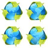 σημάδια ανακύκλωσης απεικόνιση αποθεμάτων