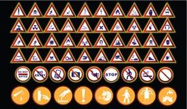 Σημάδια απαγορεύσεων Στοκ Εικόνες