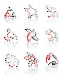 σημάδια εικονιδίων Στοκ φωτογραφία με δικαίωμα ελεύθερης χρήσης